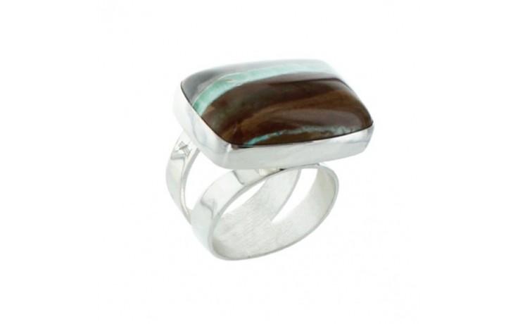 Boulder Variscite Ring