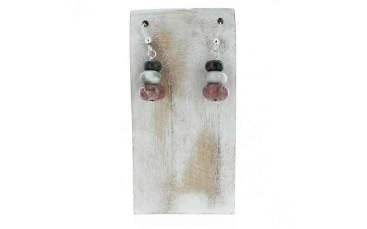 Orbicular Jasper Earrings