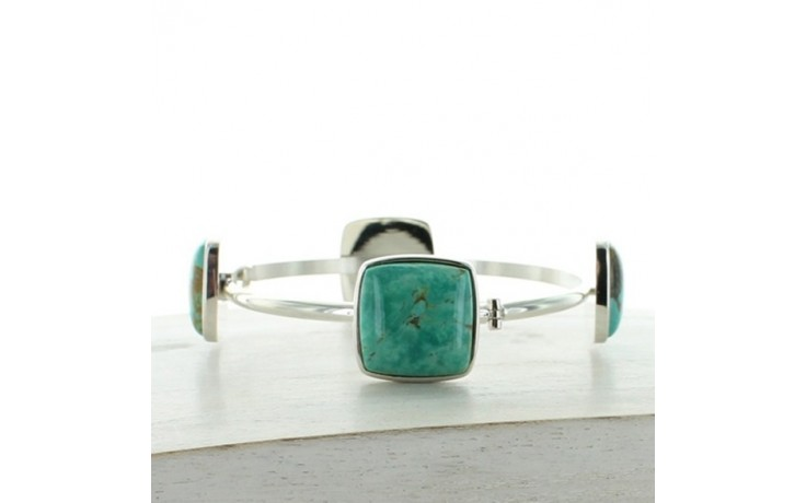 Tyrone Turquoise Cuff