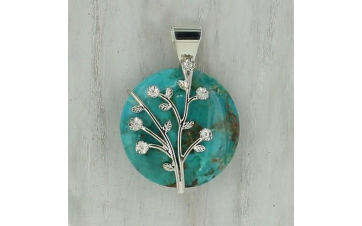 Santa Rita Turquoise Pendant