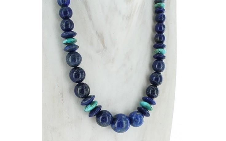 Lapis & Turquoise Necklace
