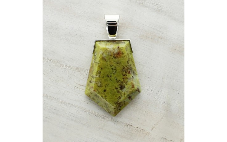 Madagascar Green Opal Pendant