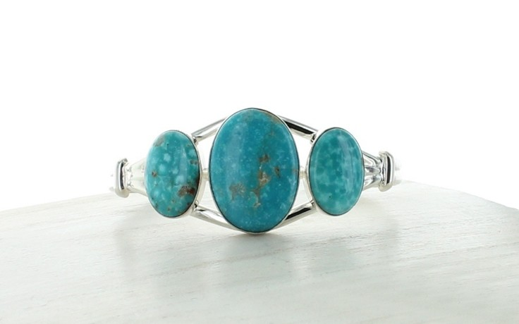 Sonoran Blue Turquoise Cuff