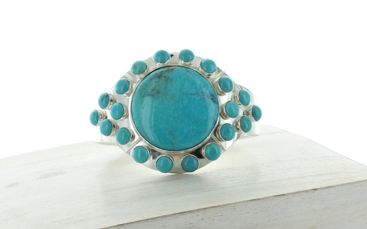 Azure Peaks Turquoise Cuff