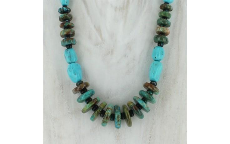 Seven Peaks & Hubei Turquoise Necklace