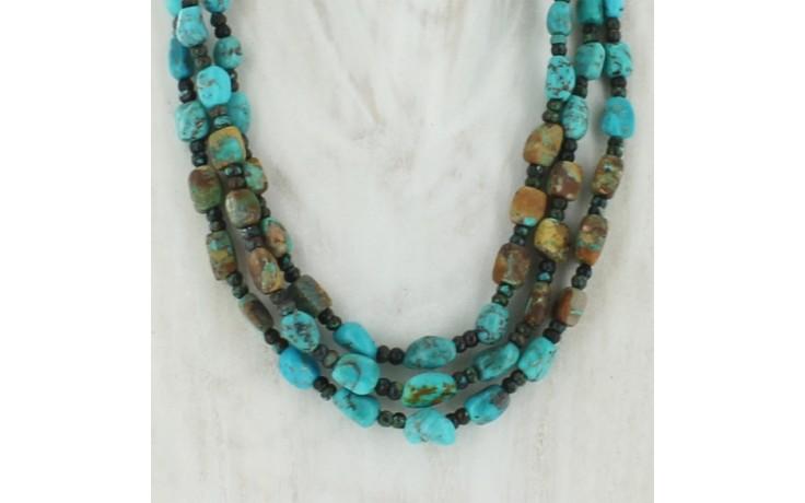 Seven Peaks & Iron Mountain Turquoise Necklace