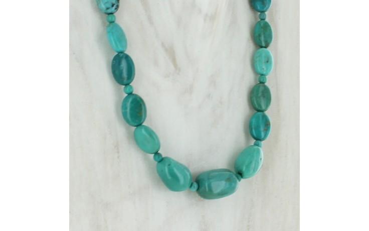 Azure Peaks Turquoise Necklace