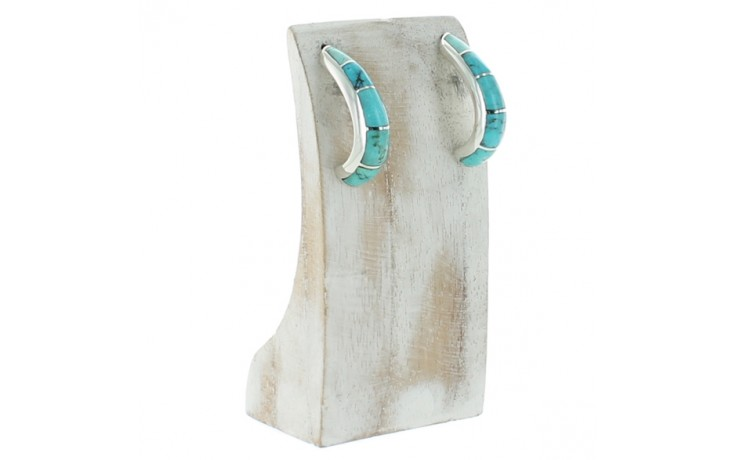 Multi Colored Turquoise Earrings