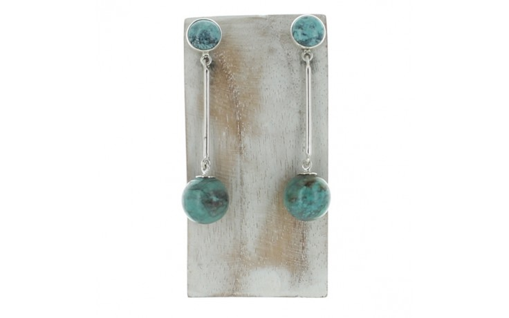 Hubei Turquoise Earrings