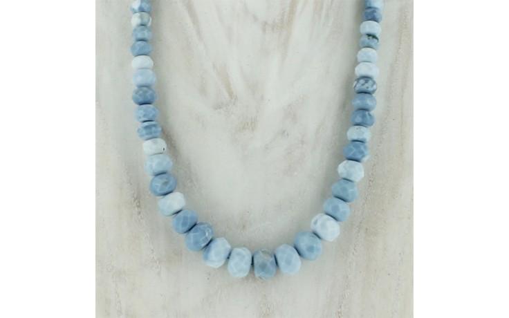 Dream Blue Opal Faceted Necklace