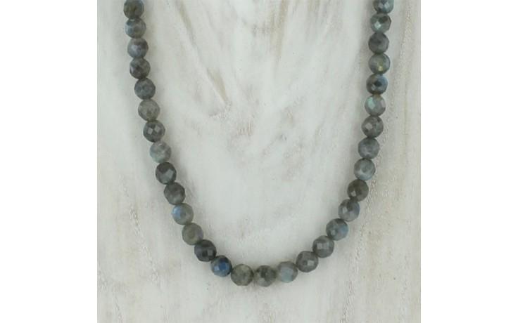 Labradorite Faceted Necklace