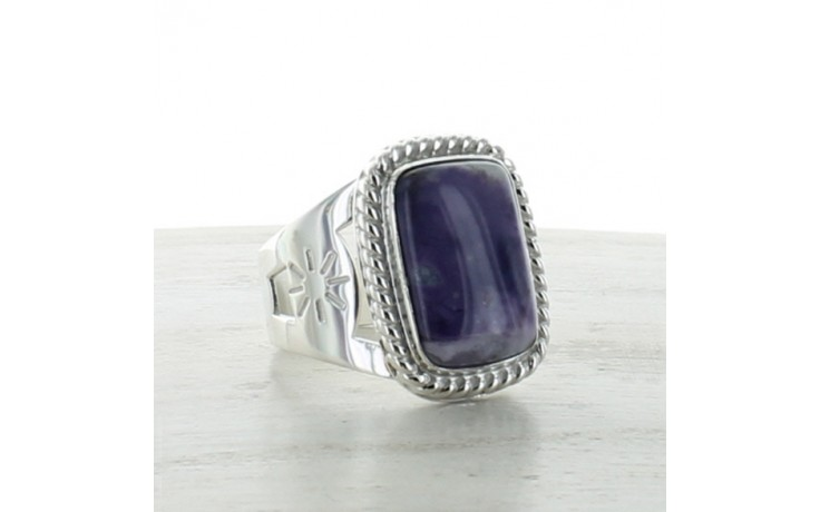 Lavender Opal Ring Size 12