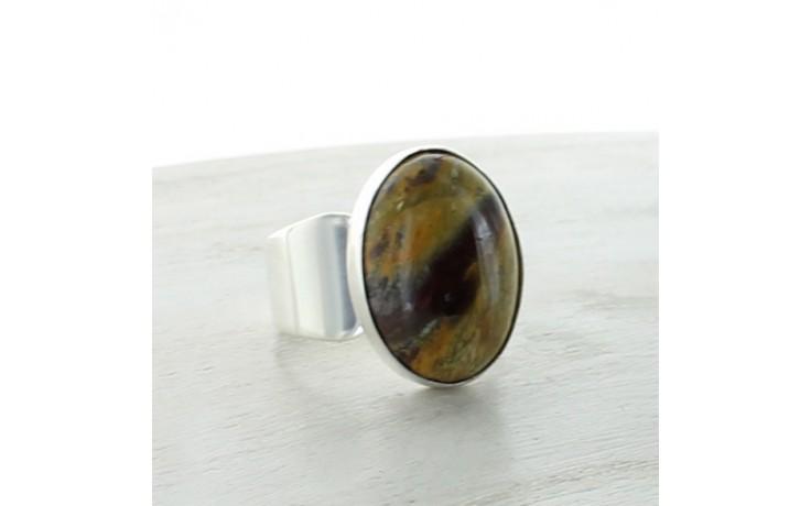 Jasper Ring Size 7