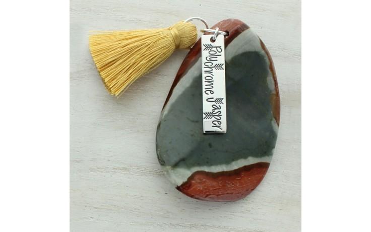 Polychrome Jasper Meditation Stone