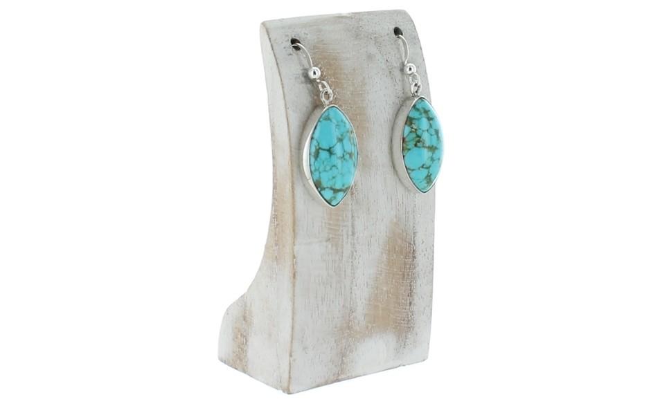 Sonoran Blue Turquoise Earrings