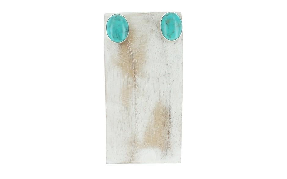 Azure Peaks Turquoise Earrings