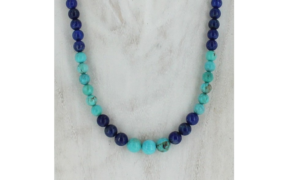 Lapis & Turquoise Necklace