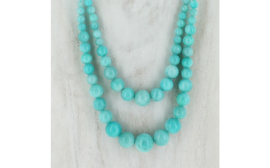 Peruvian Amazonite Necklace