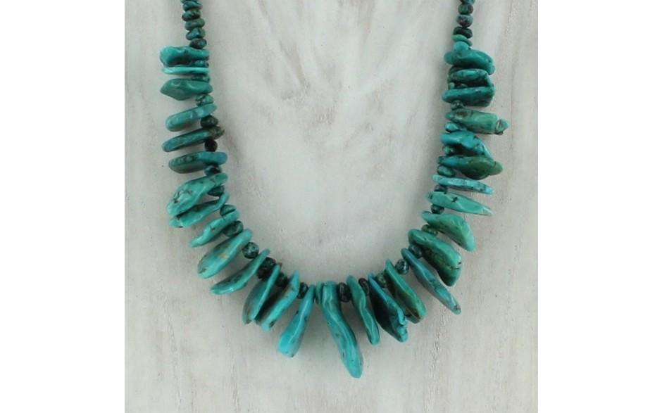 Iron Mountain Turquoise Necklace