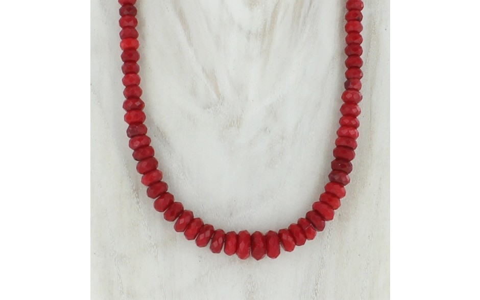Red Sea Bamboo Coral Necklace