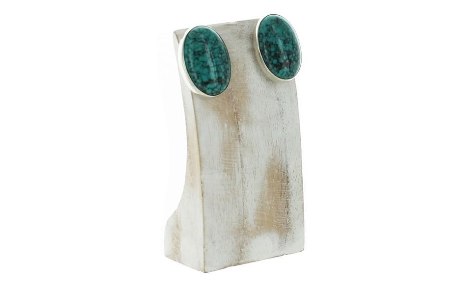 Hubei Turquoise Earrings