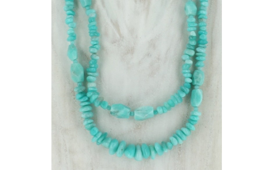 Peruvian Amazonite Necklace