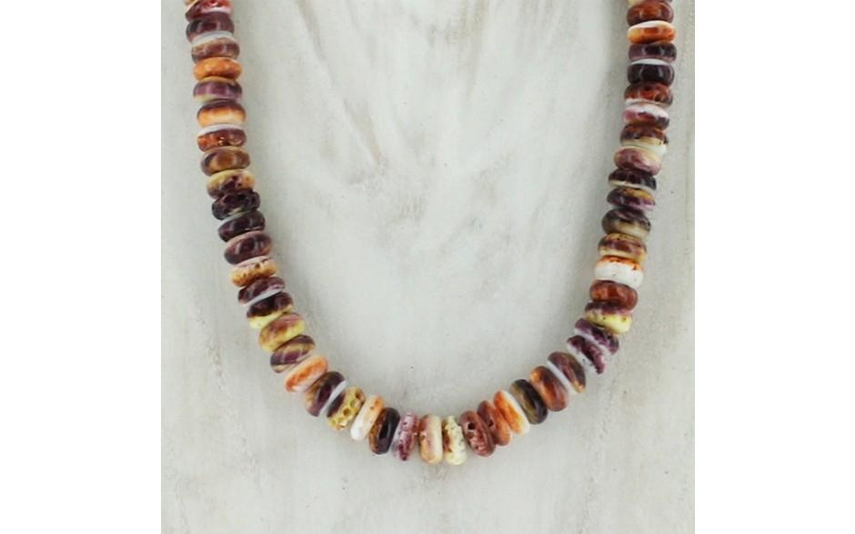 Spiny Oyster Medley Necklace